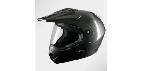 Шлем (мотард) Origine Gladiatore Solid (черный глянцевый, S) павлик