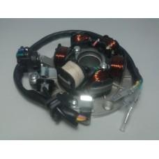 Статор генератора с катушкой освещения KAYO двиг. LF120 см3 CN