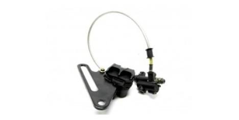 Тормоз дисковый задний в сборе (ножной) TTR250a
