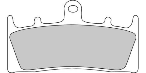 Тормозные колодки FDB873ST