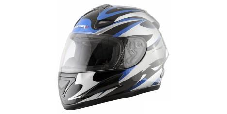 Шлем (интеграл) MI 160 черно-серебристый XL MICHIRU