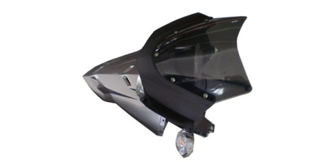 Пластик правый  передний Stels 400 GT