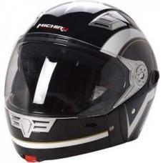 Шлем (интеграл) MI 190 Черно-белый L MICHIRU