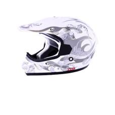 Шлем (кросс) MC 130 Nirvana White (Размер S) MICHIRU