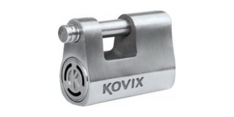 Замок для цепи с сигнализацией KOVIX KBL12 (d-12мм) стальной