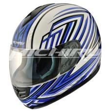 Шлем (интеграл) MI 120 Blue Whiter Размер ХL MICHIRU