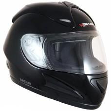 Шлем (интеграл) MI 160 Black Размер L MICHIRU фибергласс