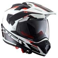 Шлем CROSS TOURER ADVENTURE white black (белый/черный) XL