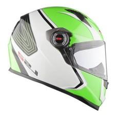 Шлем FF358 CORSA WHITE GREEN XXL