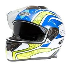Шлем G-350 blue-yellow L