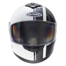 Шлем GSB G-349 black & white XL
