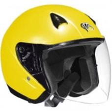 Шлем (открытый со стеклом) NT-200 Solid Hi-Vis желтый глянцевый L