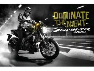 Предварительный заказ на мотоцикл Bajaj Dominar 400